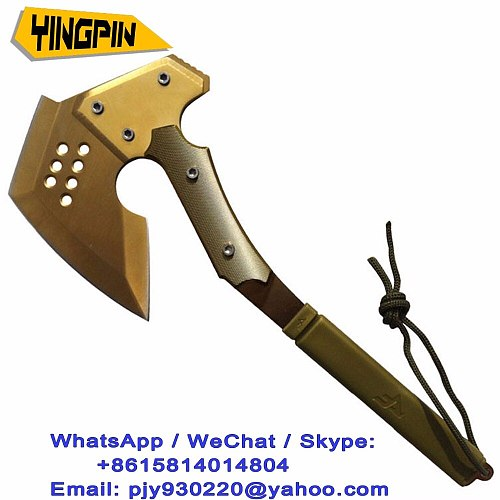 The fourth generation CF crossed the fire line outdoor camping axe multifunctional axe camp Golden Rose axe.chopper hatchet spli