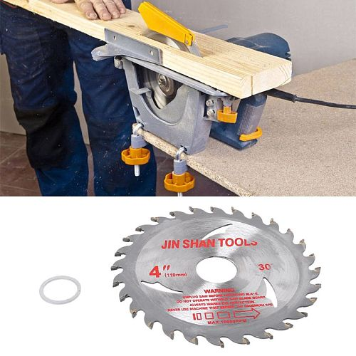 OOTDTY 105mm Circular Saw Blade Disc Wood Cutting Tool Bore Diameter 20mm For Rotary Tool Woodworking