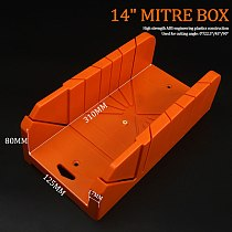 Multi-purpose Woodworking Diagonal Saw Cabinet 45 90 Degree Saw Box Angle Saw Oblique Cutting Groove