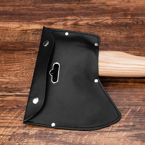 Soft Survival For Axe Sheath For EDC Tools Outdoor Camping PU Leather Durable Cover Blade Protection Multifuntional Hatchet