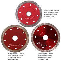 Red Hot Pressed Sintered Mesh Turbo Ceramic Tile Granite Marble Diamond Saw Blade Cutting Disc Wheel Bore Tools