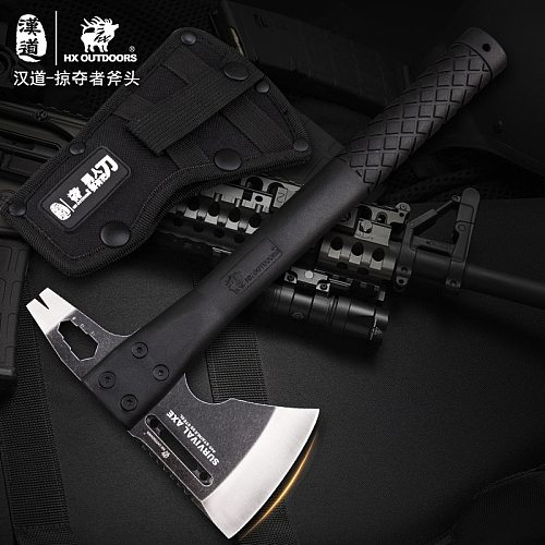 Tactical Engineer Axe Rescue Axe Camp Artillery Fire Rescue Axe Hammer survival  firefighter camping supplies  axe tomahawk