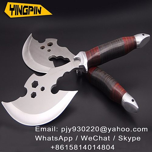 Outdoor axe knife camping hand axe field tool self-defense weapon mountain axe knife