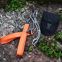 Portable Survival Chain Saw Chainsaws Emergency Camping Pocket Hand Tool  Outdoor