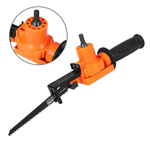 Household Portable Reciprocating Saw Metal Cutting Wood Cutting Tool Electric Drill Attachment Power Tool Accessories drop shipp