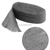 Grade 0000 Steel Wire Wool 3.3m For Polishing Cleaning Remover Non Crumble R02 Whosale&DropShip