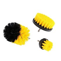 3Pcs 6Colors Electric Drill Brush Grout Power Drills Scrubber Cleaning Brush Tub Cleaner Tools Kit For Kitchen Bathroom