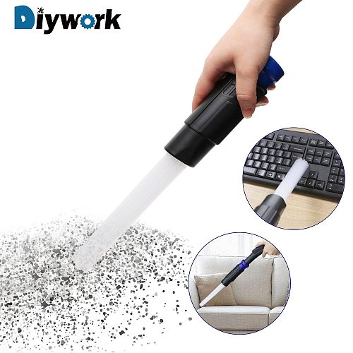 DIYWORK Straw Tube for Household Keyboard Air Vent Vacuum Attachment Tools Brush Cleaner Dusty Brush Cleaning Tool Dirt Remover