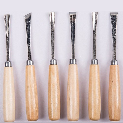 Multifunctional Cutter Set Wood Tool Woodworking Hand Carving Knife Carving Chisel Carpenter's Workshop Dropshipping 6 Pieces