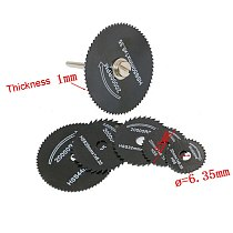 7 Pcs/ Set 3.2mm HSS Circular Saw Blade Cutting Disc Cut-Off Wheel For Rotary Tools Sets JA55