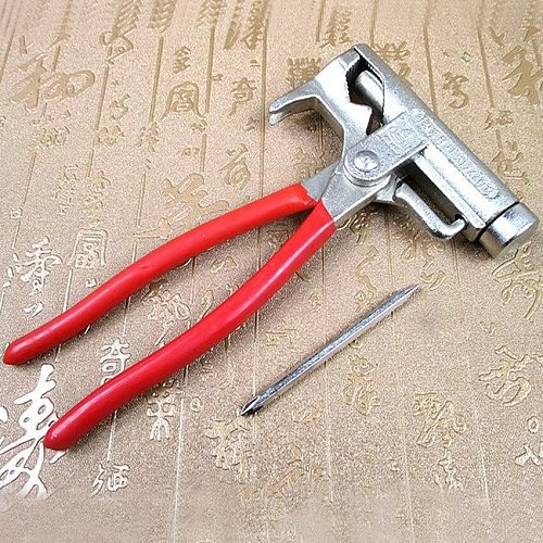 1 pc Multi-function Universal Hammer Screwdriver Nail Gun Pipe Pliers Wrench Clamps Pincers Tool