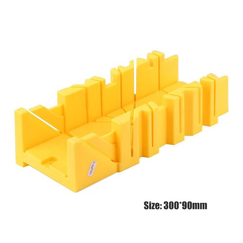 45/90 Degree Splicing Angle Saw Boxes Multi-functional Oblique Sawing Cabinet Saw Box Woodworking Tile Fixed Screw Hole Device