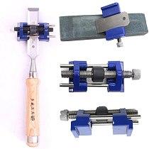 Sharpening Wood Chisel Metal Honing Jig Hand Blade Wood Chisel & Plane Iron Planers Honing Guide Sharpening Blades Tool New