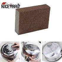 NICEYARD Rust Cleaning Emery Sponge Magic Eraser Descaling Clean Rub pot Removing Cotton Nano Sponge Kitchen Supplies