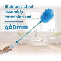 Adjustable Electric Feather Duster Dirt Dust Brush Vacuum Cleaner Blinds Furniture Window Bookshelf Cleaning Tool Brush