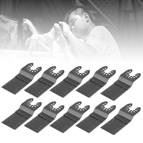 10Pcs Multitool Saw Blade Oscillating Blade Multi Tool Circular Saw Blades For Renovator For Fein Multimaster Wood Cutting Kit