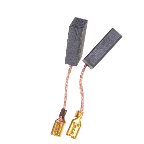 10 Pcs Mini Drill Electric Grinder Replacement Carbon Brushes Spare Parts For Electric Motors Rotary Tool 15*8*5mm