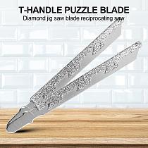 T-shank Diamond Jigsaw Blade for Marble Stone Granite Tile Ceramic Cutting Industry Stone Processing Rapid Cutting Masonry Power