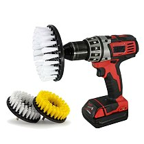 2Pcs 5Inch Drill Brush For Carpet Tile Cleaning Household Supplies Attachment