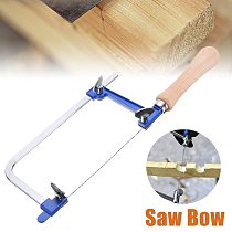 60mm Adjustable Saw Bow with Saw Blade U Shaped Woodworking Saw Bow Jewelry Saw Frame DIY Making Tool Saw Hand Tool