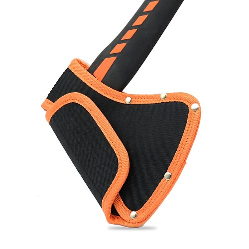 Axe Head Cover Hatchet Head Sheath Holster for 6mm Belts Oxford Axe Case Camping Blade Cover Protector NOT INCLUDING AXE