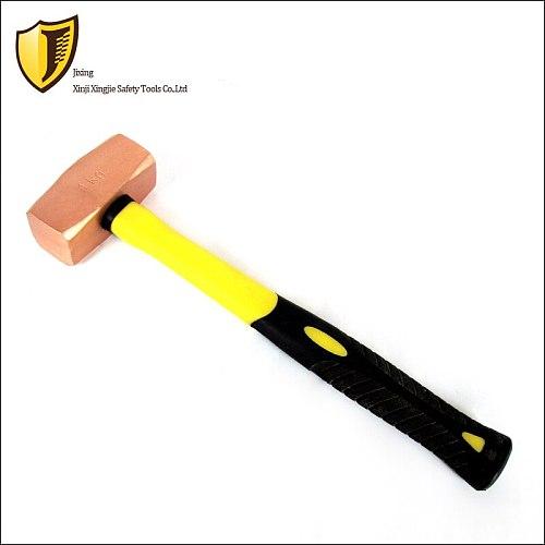 1.5kg,Red Copper German octagonal hammer , Explosion-proof hammer
