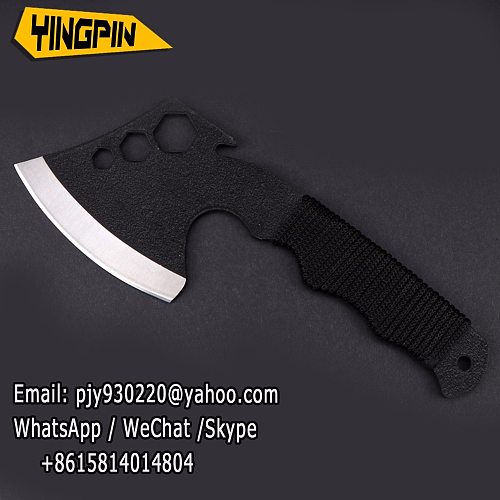 High Quality Wooden Handle Axe Outdoor Hunting Camping Survival Machete Axes Hand Tool Practical Axe.