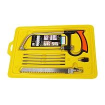 Multi Purpose Hobby Tool 8 in 1 Mental Magic Saw Hacksaw DIY Hand Saw for Woodworking Saws Set Kit JA55