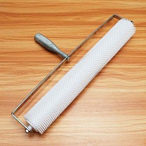 DIY 20 Inch 13mm Spiked Aeration Floor Roller Hand Tools Self Levelling Cement Defoaming Roller Screed Tools Accessories