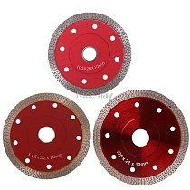 Red Hot Pressed Sintered Mesh Turbo Ceramic Tile Granite Marble Diamond Saw Blade Cutting Disc Wheel Bore Tools  F14 20 Dropship