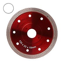 Red Hot Pressed Sintered Mesh Turbo Ceramic Tile Granite Marble Diamond Saw Blade Cutting Disc Wheel Bore Tools