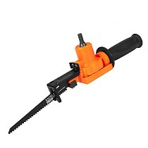 Cordless Reciprocating Saw Metal Cutting Wood Cutting Tool Electric Drill Attachment With Blades Power Tool