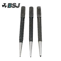 Hot sell 3pcs Non Slip Center Pin Punch Set 3/32  High-carbon Steel Center Punch For Alloy Steel Metal Wood Drilling Tool