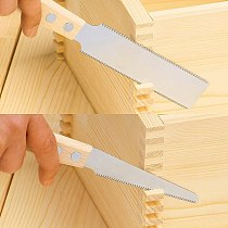1150/1151 Japanese Joinery saw Flush Cutting Saw Double Edges Fine Woodworking Wood nail cut Made in Japan