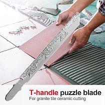 T-shank Marble Stone Granite Tile Ceramic Cutting Diamond Jig Saw T-shank Diamond Jigsaw Blade for Blades Jigsaw Blade Home Tool