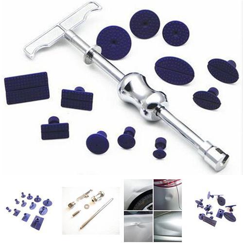 Automotive Dent Removal Tools Dent Repair Kit Slide Hammer Hand Puller Kit