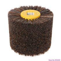 New  Deburring Horsehair Round Brush Head Polishing Grinding Buffing Wheel Woodworks