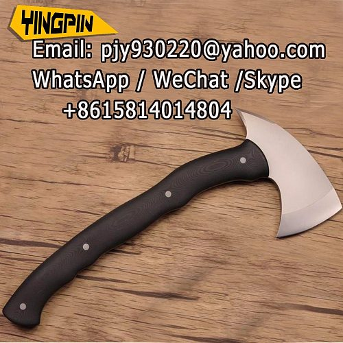 HKMG Winkler's hatchet Black Hawk axe,camping Axe Tomahawk hand tools cutlery knife Battle axe Outdoor Camping Survival