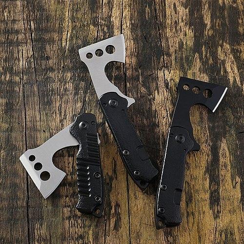 Outdoor folding knife mini small axe EDC keychain pendant pocket knife portable knife self-defense knife folding knife