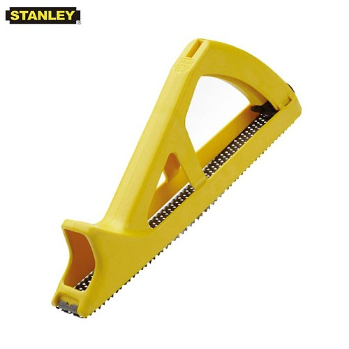 Stanley 1pcs 10  5-1/2 in. surform triangular stand with replacement blades for palstic wood working hand polishing tools 11.11