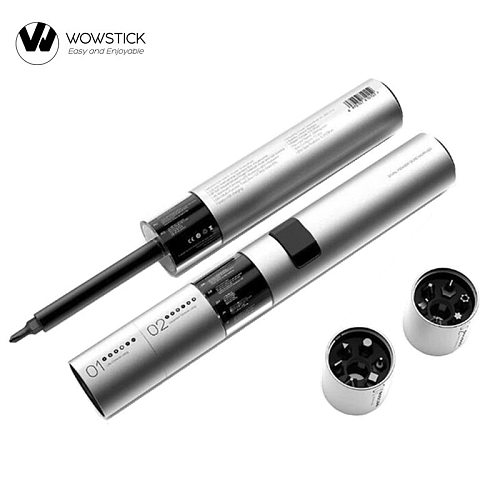 2020 NEW WOWSTICK SD 36 Bits 3LED Exquisite Lithium Battery Home Screwdriver Magnetic Suction One Button Design More Torque