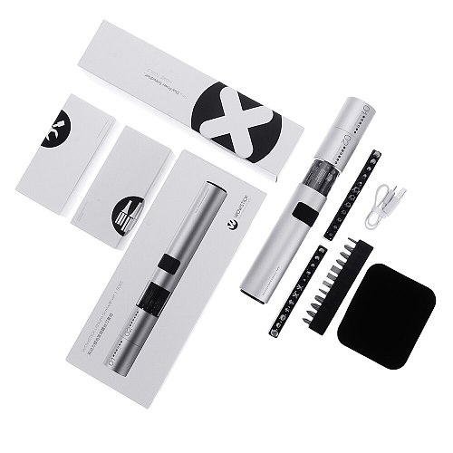 WOWSTICK SD 36 in 1 Dual Power Lithium Electric Screwdriver LED Lights Rechargeable Magnetic Suction Screw Driver For DIY