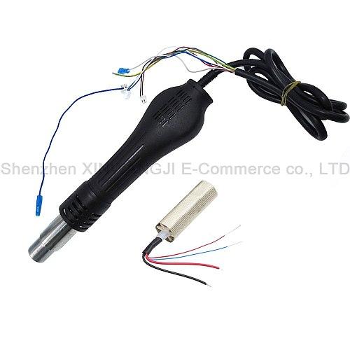 BGA Soldering Stations Hot Air Gun Handle Heating Element For Saike 898D 852D+ 858D 909D 952D+ 8586D 852D++ Soldering Station