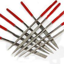10pcs 140mm Diamond Needle Files Set Abrasive Tools