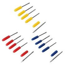 5Pcs/Set 30° 45° 60° Degree Blades Cutting Plotter For Pcut Vinyl Cutter Blade K43C