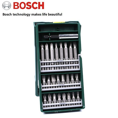 Original BOSCH Go 2 electric screwdriver bits set wireless power drill bits set 25pcs for BOSCH Go2 home DIY drill bits