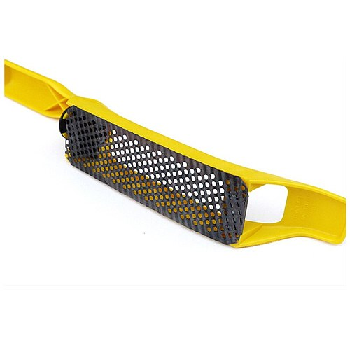 Stanley 1pcs 12 inch flat surform with replacement 5-1/2  blade fine-cut blades rasp shaver for copper/lead/aluminum/brass/wood