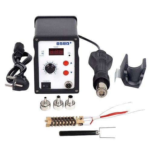 WMORE Hot air gun 858D 700W BGA soldering rework solder station SMD welding LED Digital station 220V 110V solder repair tool kit