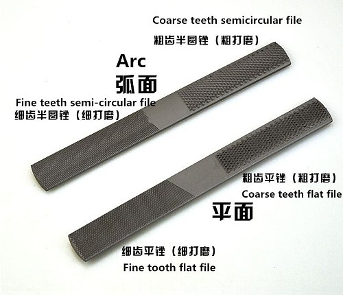 4 in 1  Four-use file Woodworking File Redwood File Flat File Half-Round File  Free Shipping