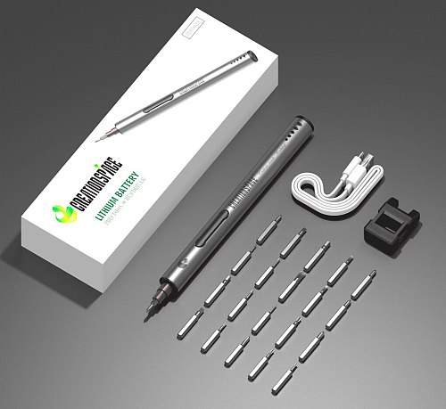 CREATIONSPACE CS01A Lithium Precision Screwdriver Tools for Repairing Mobile Phones, Glasses, Computers